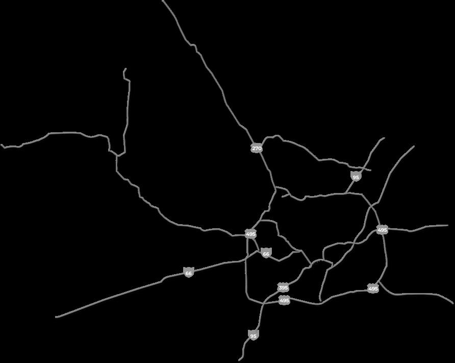 map roads